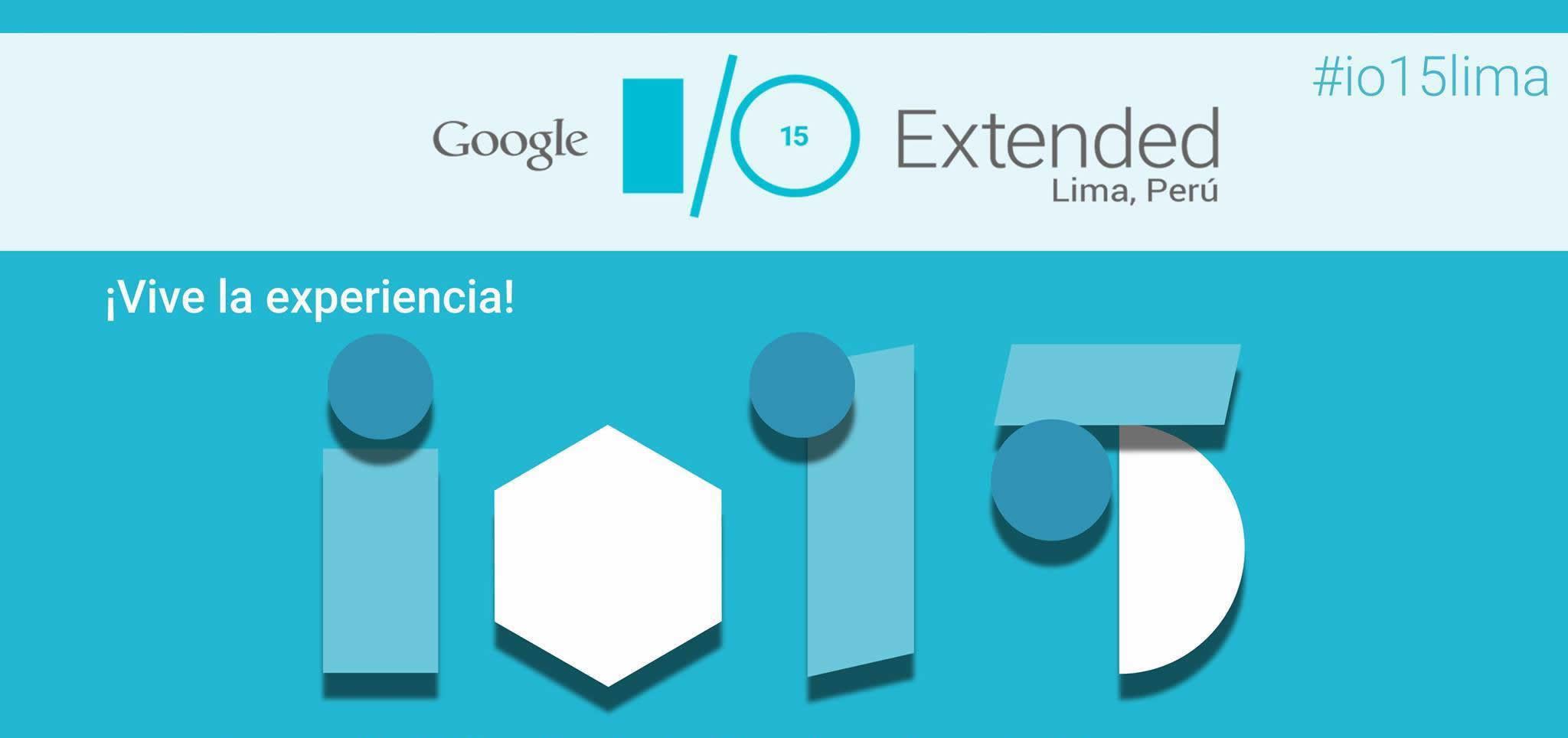 Participando en el Google I/O Extended Lima 2015