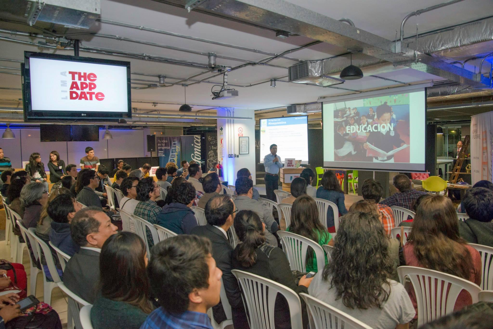 Estuvimos presente en «The App Date Lima», con el tema: EDUCACION y Medios Digitales