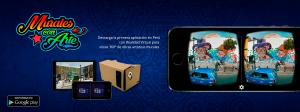 Aplicacion Murales con Arte VR. Por Inmerzum