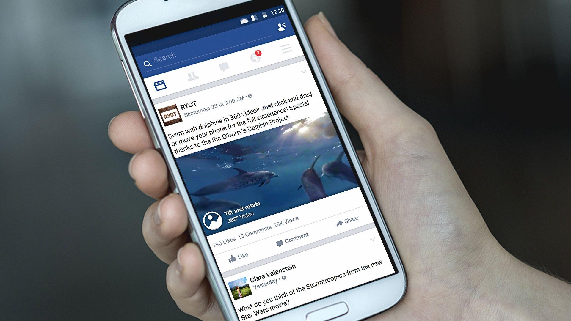 Facebook habilita función para subir foto en 360°