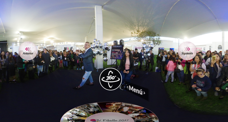 Revive el evento FIBELLA con Realidad Virtual