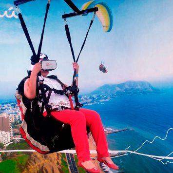 """Parapente en Realidad Virtual para """"Perú, mucho gusto – Tumbes"""" de Promperú"""