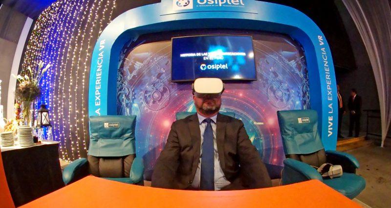 25 Años de Osiptel con Realidad Virtual y 4D
